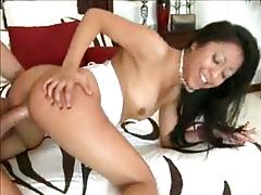 Asian girlfriend is very naughty on home tape