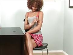 Sexy college pussy eating class