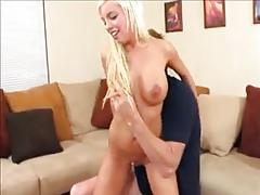 Sweet innocent college blonde coerced into fucking