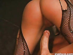 Sexy brazilian showgirl caught on tape
