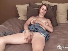 Big titted yanks harley rhodes masturbating