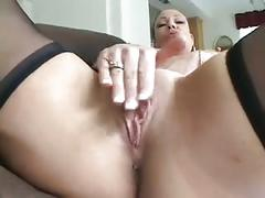 Sexy milf strips sucks fucks and takes bbc in her ass