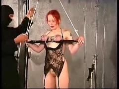 Melany strappado bondage training part-2