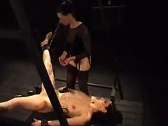 P0 - extreme pain,  whip,  electric,  needles in pussy and breasts tits,  bdsm