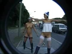 P0 - breaking taboos berlin - public nudity - outdoor