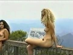 public nudity, teens, voyeur, hidden cam, beach, outdoor, nude in public