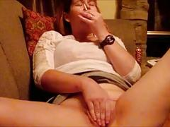 My milf wife talking dirty masturbating sucking dick!