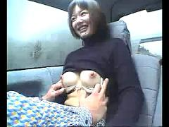 Public japan sex in car