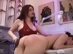 Three way spank fest