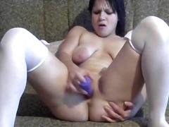 Super orgasm with sex toy