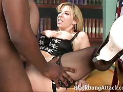Black cock for a hot milf