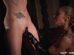 fetish, hotgvibe.com, milf, orgasm, vibrator, squirt, blonde, brunette, bdsm, bondage, ass spanking, shaved cunt, hd, clit rubbing