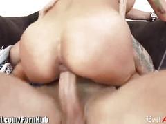 Evilangel slutty milf anal riding