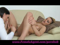 Femaleagent. fingers and toys pleasure