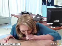 Brazzers - hot doctor brooke wylde loves big cock