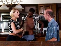 big dick, blonde, interracial, klk, bbc, kagney