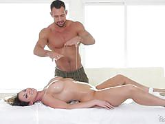 Yasmin scott oiled up and fully fucked