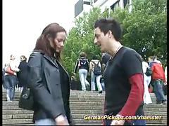Pickup german redhead teen