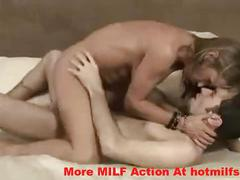 Mature hot milf has her pussy pounded by young man – more milf action at hotmilfs.co.nr
