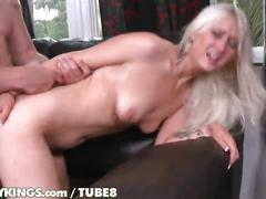 Reality kings - white haired babe gets fucked