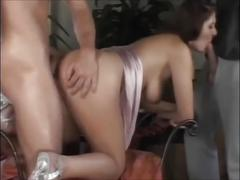 Sexy stepmom threesome