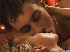 Slow anal fucking of a sexy blonde