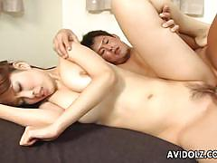Luscious asian fucked hard and rough