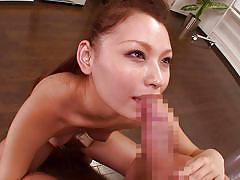 Intern loves her boss's cock