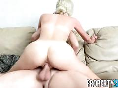 Propertysex - private investigator fucks hot blonde real estate agent