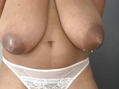 Niketa and leona longboobs pregnant latina lactating