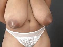 Niketa and leona longboobs pregnant latina lactating
