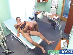 Ripped stud gets naughty treat at the docs