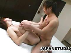 Asian twink gets his ass nailed