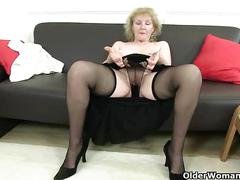 milf, mature, masturbation, granny, british, samantha, cougar, english, grandma, pearl, gilf