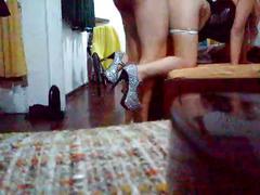 Garchando y tirandose champagne latinturras.com