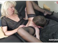 German amateur milfs in nylons