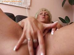 blonde, blowjob, pussy, couple, dildo, handjob, homemade, masturbation, mature, vibrator, more
