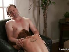erotic, blonde, natural tits, tattoo, cock sucking, sixty nine, high heels, reverse cowgirl, slim