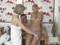 I just found her riding dad's cock