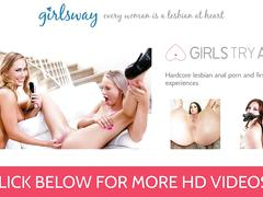 Girlsway cheating wife licks and tribs milf