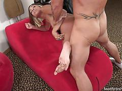 Sensual babe fucked from behind