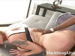 Hot milf takes on this huge black cock