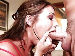 small tits, babe, deepthroat, brunette, saliva, ball sucking, pov, throated, myxxxpass, adriana chechik