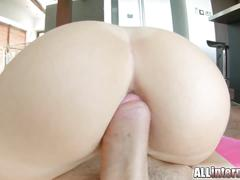 All internal april blue gets her incredible pussy creampie