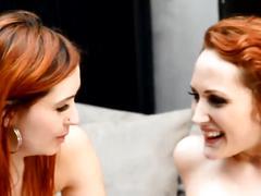 Redhead french sluts lesbian threesome