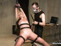 Dominated babe enjoys bdsm