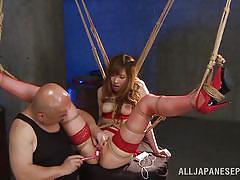 japanese, slave, squirting, master, fingering, censored, sex toy, asian babe, rope bondage, wierd japan, all japanese pass, yuna hayashi