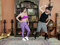 Attractive milf exposes her big tits @ big tit fantasies #05