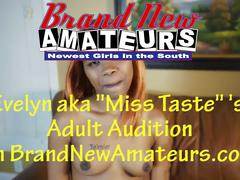 Brandnewamateurs evelyn first time hitachi sample vid