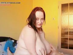 Amateur massive breasts grabbed during sex